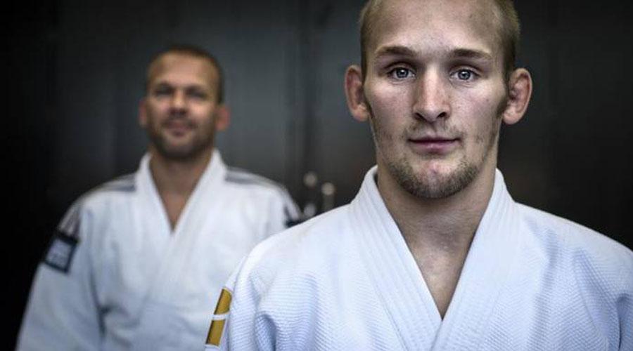 Judokampioen Albert Westerhof